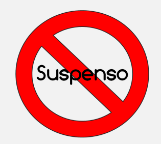 Prohibido suspender